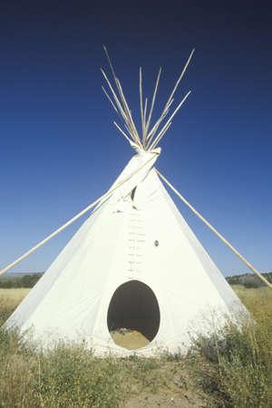 nm: Teepee in Taos, NM