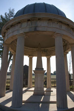 Tomb Of Andrew And Rachel Jackson At The Hermitage Garden, Nashville, TN  Stock Photo