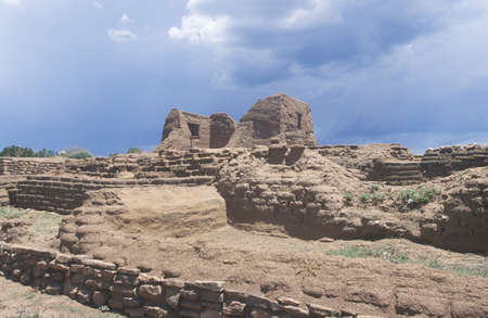 Spanish Mission ruins, Pecos National Historical Park, NM