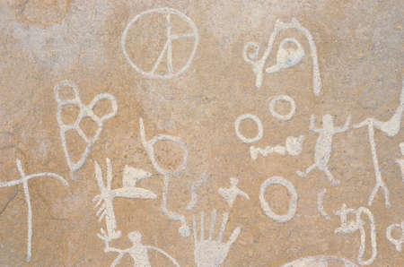 ut: Petroglyphs, Newspaper Rock, Southern UT