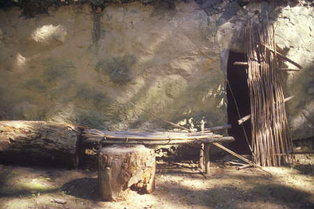 the dwelling: Ancient dwelling, Tasalagi Village in the Cherokee Nation, OK
