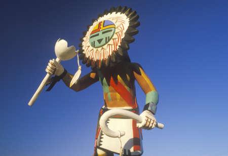 Hopi Kachina doll  Редакционное