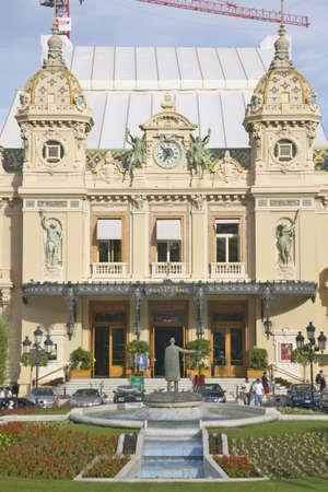 garnier: The Monte Carlo Casino, built by Charles Garnier in 1879