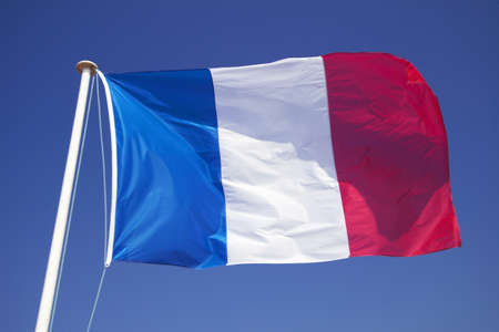 The flag of France Editorial