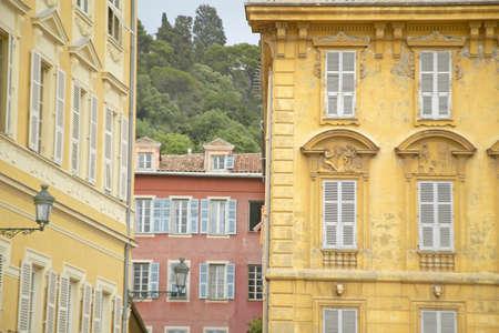 Buildings in Nice, France