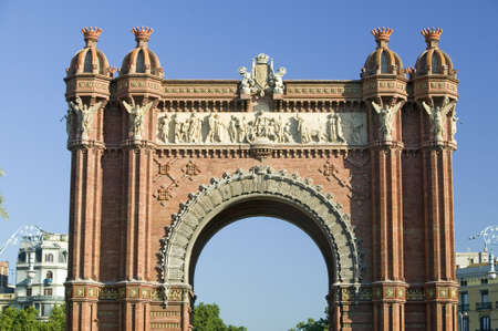 part i: Arc de Triumf: LArc de Triumph, by Josep Vilaseca I Casanovas, in Barcelona, Spain was built in 1888 as part of the Universal Exposition