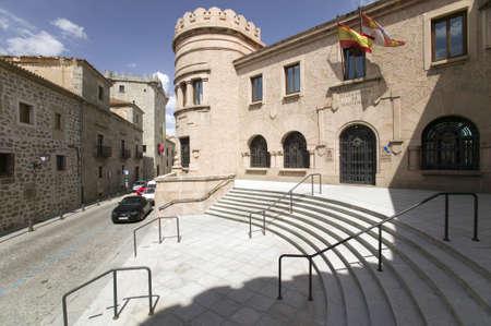 アビラ、スペイン古いカスティーリャ スペイン村