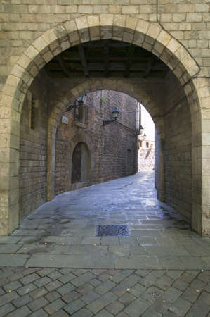 synagogues: Sinagoga Mayor de Barcelona, The Main Synagogue, one of the oldest synagogues in Europe, 13th Century, Spain