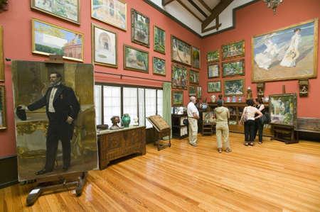 sorolla: Paintings by Joaqu�n Sorolla y Bastida (1863-1923) as seen in The Sorolla Museum, Madrid, Spain