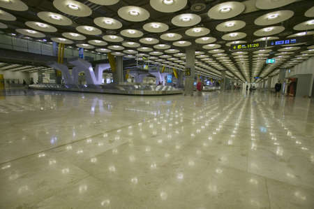 barajas: Interior view of Madrid Barajas Airport (MAD), Spains busiest airport