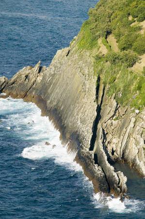 Donostia-San Sebastian, Basque region of Spain, the Queen of Euskadis and Cantabrian Coast, as seen from Monte Igueldo overlook view spot