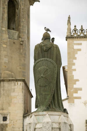 Church of Santa Maria do Olival was considered as the mother church of the Order of the Knights Templar in Portugal and it is the resting place of many of the past Masters, Tomar, Portugal