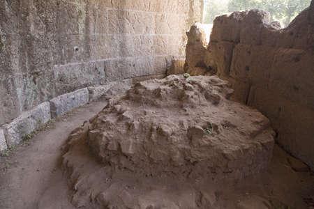 statesman: Burial spot of Julius Caesar, Forum, Rome, Italy, Europe