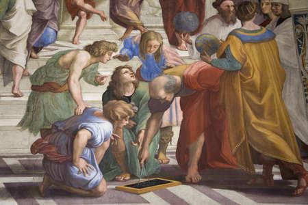 I Musei Vaticani, Musei Vaticani, sono l'arte pubblica e musei di scultura nella Città del Vaticano, che mostra opere della vasta collezione della Chiesa cattolica romana. Papa Giulio II fondò i musei nel 16 ° secolo, Roma, Italia, Europa