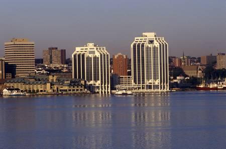 City skyline view in Halifax, Nova Scotia, Canada