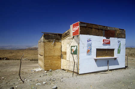 roadside stand: Independence Day in Ensenada, Mexico Editorial