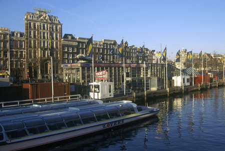holland: Sightseeing Boat, Amsterdam, Holland