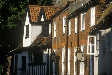 abodes: Cheshire town front in Norwich, England