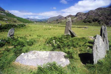 steencirkel: Oude stenen cirkel in Cork, Ierland