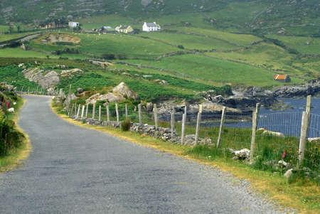 Land wegen in West Cork, Ierland Stockfoto - 20803206