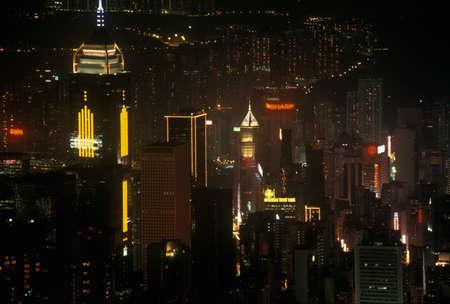photographies: Hong Kong skyline at night