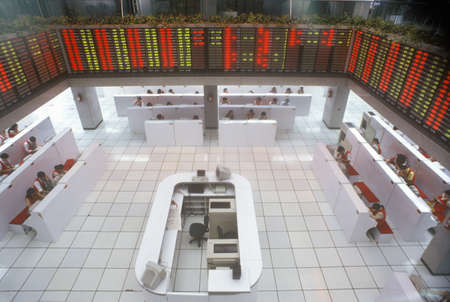 Shenzhen Stock Exchange, Peoples Republic of China 新聞圖片