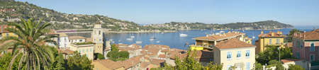 villefranche sur mer: View of Villefranche sur Mer, French Riviera, France