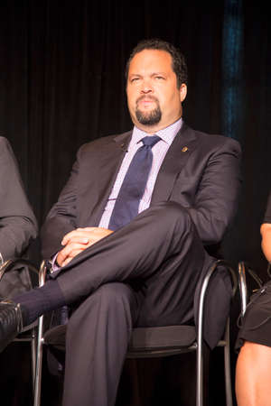 Former NAACP President and CEO Ben Jealous at Newseum Museum Panel on 50th Anniversary of Civil Rights March on Washington, D.C.,  No Lie Can Live Forever