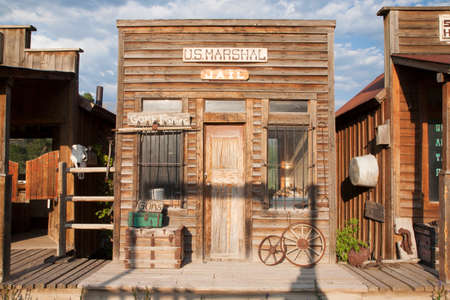 old towns: Western US Jail and Marshalls Office, Ridgway, Colorado