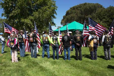 tradition: Patriot Guard Motorcyclists honor fallen US Soldier Editorial