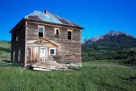 grit: Historic True Grit Cabin, Hastings Mesa, near Ridgway, Colorado, USA