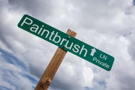 Paintbrush Lane, San Miguel County, Colorado, USA