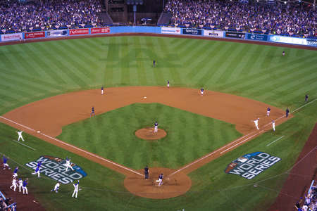 OCTOBER 26, 2018 - LOS ANGELES, CALIFORNIA, USA - DODGER STADIUM: LA Dodgers defeat Boston Red Sox 3-2 in game 3, the longest game in World Series History - 18 innings, 7 hours , 20 minutes - Max Muncy hits walk-off home run to win game