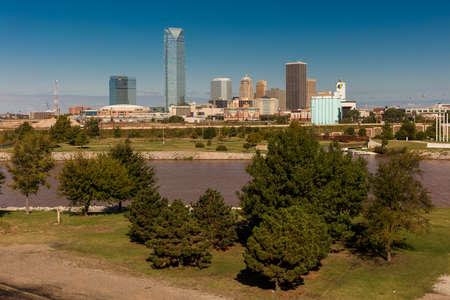OCTOBER 11, 2018 - Oklahoma City, USA - Oklahoma City Skyline, Oklahoma City, Oklahoma Publikacyjne