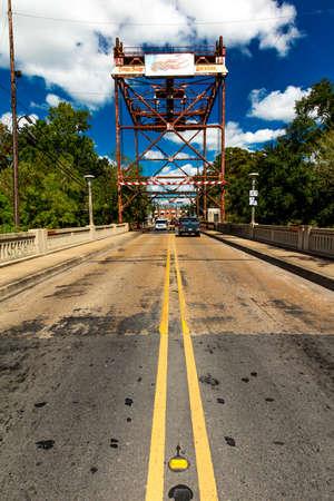 OCTOER 10, 2018 - Historic Breaux Bridge, Louisiana outside of New Orleans