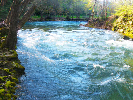cours d eau: cours d'eau rapide