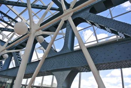 retained: Reconstrucci�n y restauraci�n del puente hist�rico en Mosc� hicieron con meticuloso cuidado y mantenerse creativos dise�adores e ingenieros de pensamiento a partir de 1905