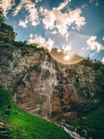 Waterfall Skakavac in Bosnia and Herzegovina