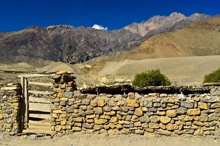 stonewall in nepal rural