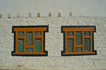 Nepali style windows in Nepal