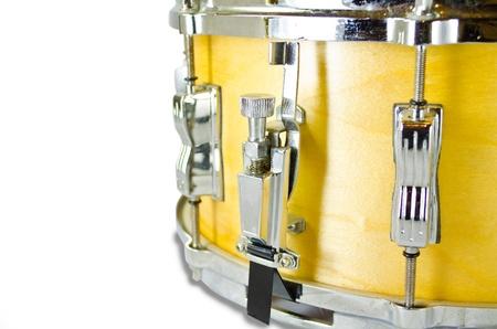 lug: used snare drums lug i solated on white background