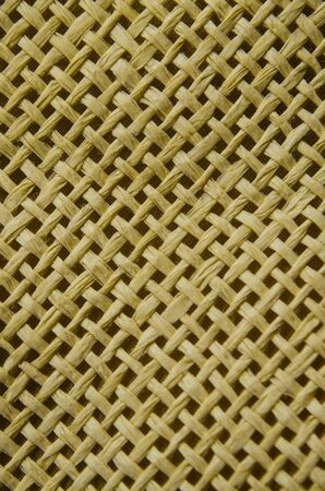 interlace: texture of handmade weaving product for backgound