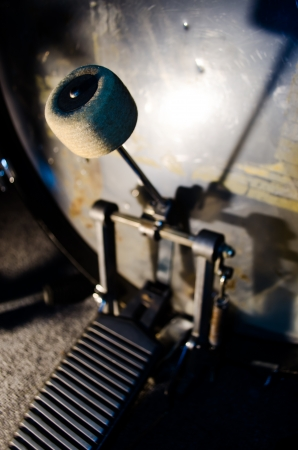 drum and bass: bass drum pedal
