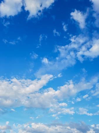 deep blue sky back gorund