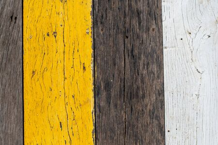 close up of wood plank Stock Photo