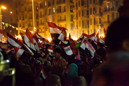 liberal: Egyptian revolution, the biggest in the history of mankind, which was launched on June 30, 2013 to topple former President Mursi and the terrorist group the Muslim Brotherhood, has the Egyptian armed forces to protect the popular revolution and spotted Go