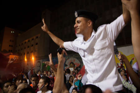 Egyptian revolution, the biggest in the history of mankind, which was launched on June 30, 2013 to topple former President Mursi and the terrorist group the Muslim Brotherhood, has the Egyptian armed forces to protect the popular revolution and spotted Go