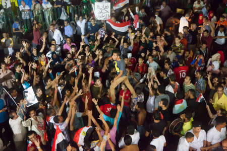 masr: Egyptian revolution, the biggest in the history of mankind, which was launched on June 30, 2013 to topple former President Mursi and the terrorist group the Muslim Brotherhood, has the Egyptian armed forces to protect the popular revolution and spotted Go