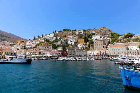 july. 10 2014 - Beautiful Houses at Hydra island - Greece