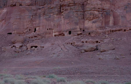 grave site: archaeological site in Al-Ula Hegra in Saudi Arabia